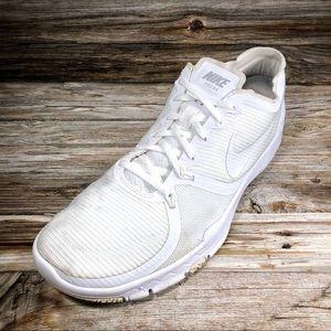 NIKE Free 3.0 V4 Running Shoes White Men's 12